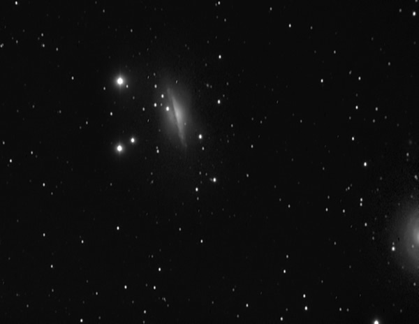 NGC1055 - Galaxy 54 Million Light Years from Earth - Camera G3 Mono