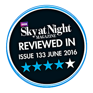Reviewed in Sky at Night Magazine