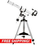 Orion AstroView 90mm EQ Refractor Telescope
