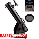 Orion SkyQuest XT4.5 Dobsonian Moon Kit