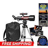 Orion GoScope III 70mm Refractor Travel Telescope Kit