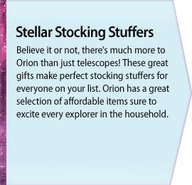 Stellar Stocking Stuffers